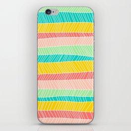 Beach Stripe (Vintage Candy) iPhone Skin