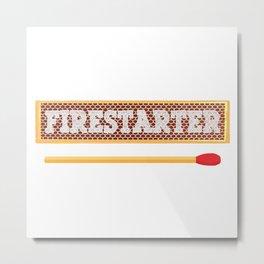 Firestarter Metal Print