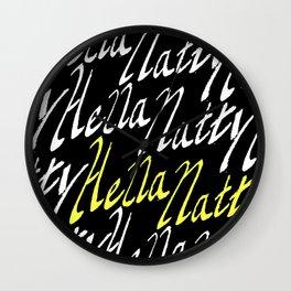 Hella Natty Wall Clock