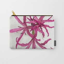 Nerine Lily Flower Carry-All Pouch