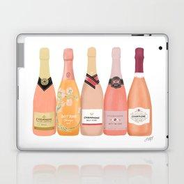 Rose Champagne Bottles Laptop & iPad Skin