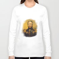replaceface Long Sleeve T-shirts featuring Alan Rickman - replaceface by replaceface