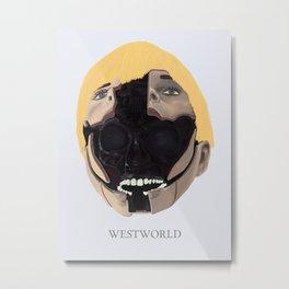W_W Metal Print