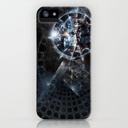 Glass universe iPhone Case