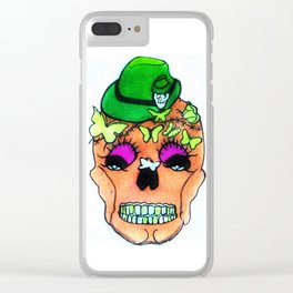 October-Firmly Clear iPhone Case