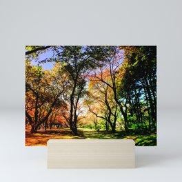 Shadows of Colors Mini Art Print