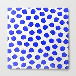 Blueberries 1 (on white) Metal Print