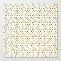 geek Canvas Prints featuring Geek by Helene Michau