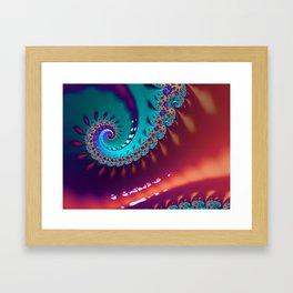 LIquid Swirls Framed Art Print