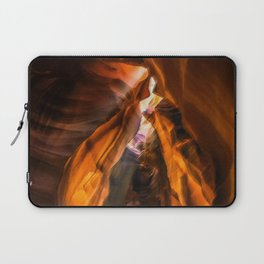 Antelope Canyon Abstract Art Laptop Sleeve