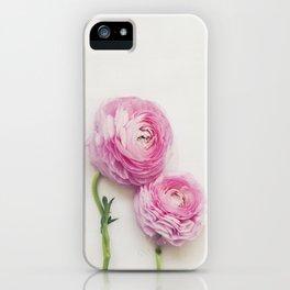 Pink Peonies 2 iPhone Case