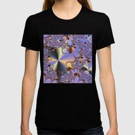 Metallic Shine with Fractals T-shirt