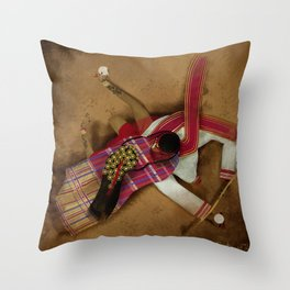 Habibi Throw Pillow