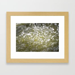 Sparkling Water Framed Art Print