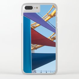 Santa Monica Pier 1 Clear iPhone Case