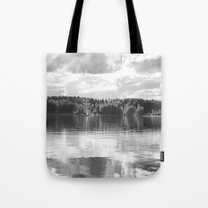 Reflections On A Lake Tote Bag