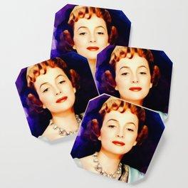 Olivia de Haviland, Vintage Actress Coaster