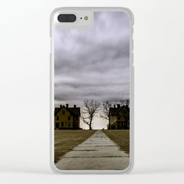 Storm drama II Clear iPhone Case