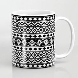 Aztec Essence IIIb Ptn White & Black Coffee Mug