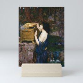 PANDORAS BOX - JOHN WILLIAM WATERHOUSE  Mini Art Print