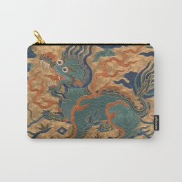 Stylized Bear Carry-All Pouch
