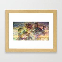 Allmight v5 Framed Art Print