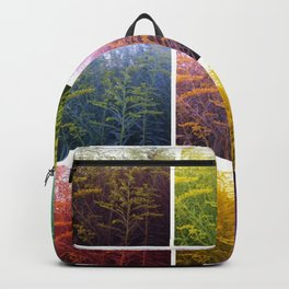 Goldenrod Collage Backpack