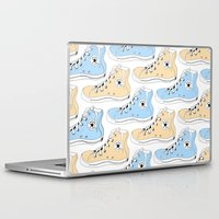 chuck Laptop & iPad Skins featuring Colored Chuck by LEIGH ANNE BRADER