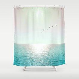 Goodbye Blighty Shower Curtain