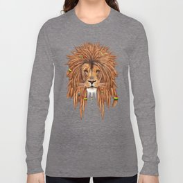 Dreadlock Lion Long Sleeve T-shirt