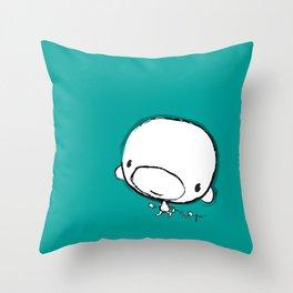 Jackson's monkey Throw Pillow