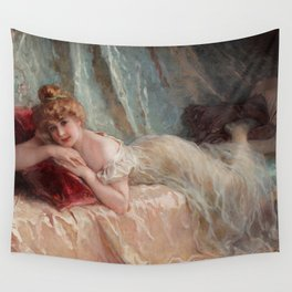 Idle Woman (1906) Wall Tapestry