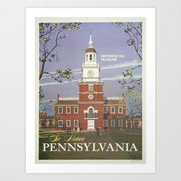 Vintage poster - Pennsylvania Kunstdrucke