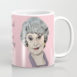 Dorothy Zbornak from The Golden Girls (Pink) Coffee Mug