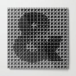 Beautifully Emergence & Metal Print