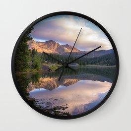 Lake Irwin, Colorado Wall Clock