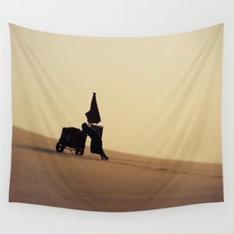 Up the hill Wall Tapestry