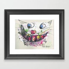 We Are What We Believe We Are Framed Art Print
