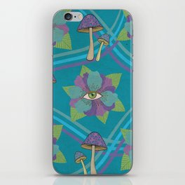 Psychedelic Pattern iPhone Skin