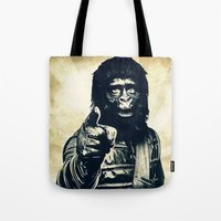 ape Tote Bags featuring Vintage Ape * Go Ape by Freak Shop | Freak Products