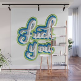 Adult Swear Word Wall Mural