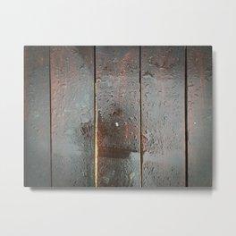 Wood you? Metal Print