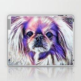 Peak in purple Laptop & iPad Skin