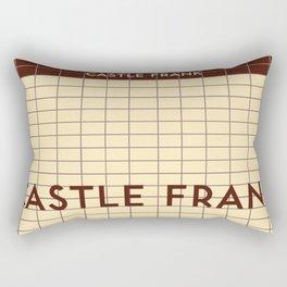 CASTLE FRANK | Subway Station Rectangular Pillow