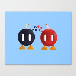 Bomb-Omb Love Canvas Print