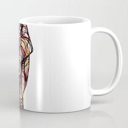 elephant line style - elefante - éléphant Coffee Mug