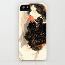 "Gustav Klimt ""Study for Judith II"" iPhone Case"