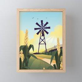 Rural Farmyard Framed Mini Art Print