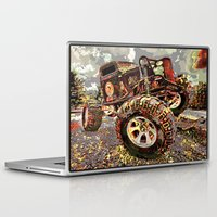 truck Laptop & iPad Skins featuring mud truck by Vector Art