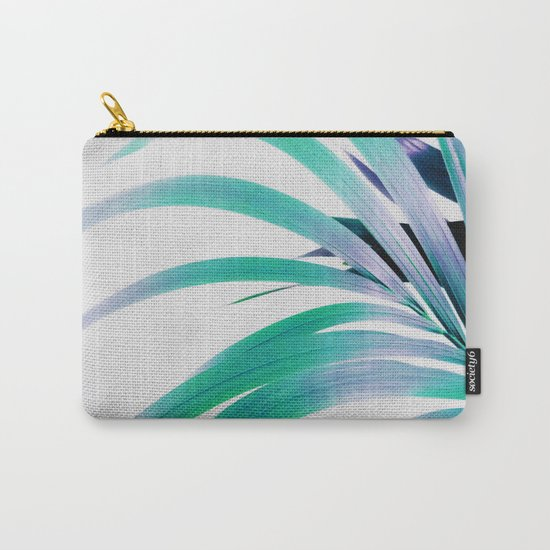 Colored Palm Leaf Carry-All Pouch